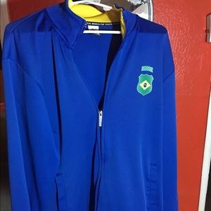 Brasil FIFA World Cup South Africa XL jacket